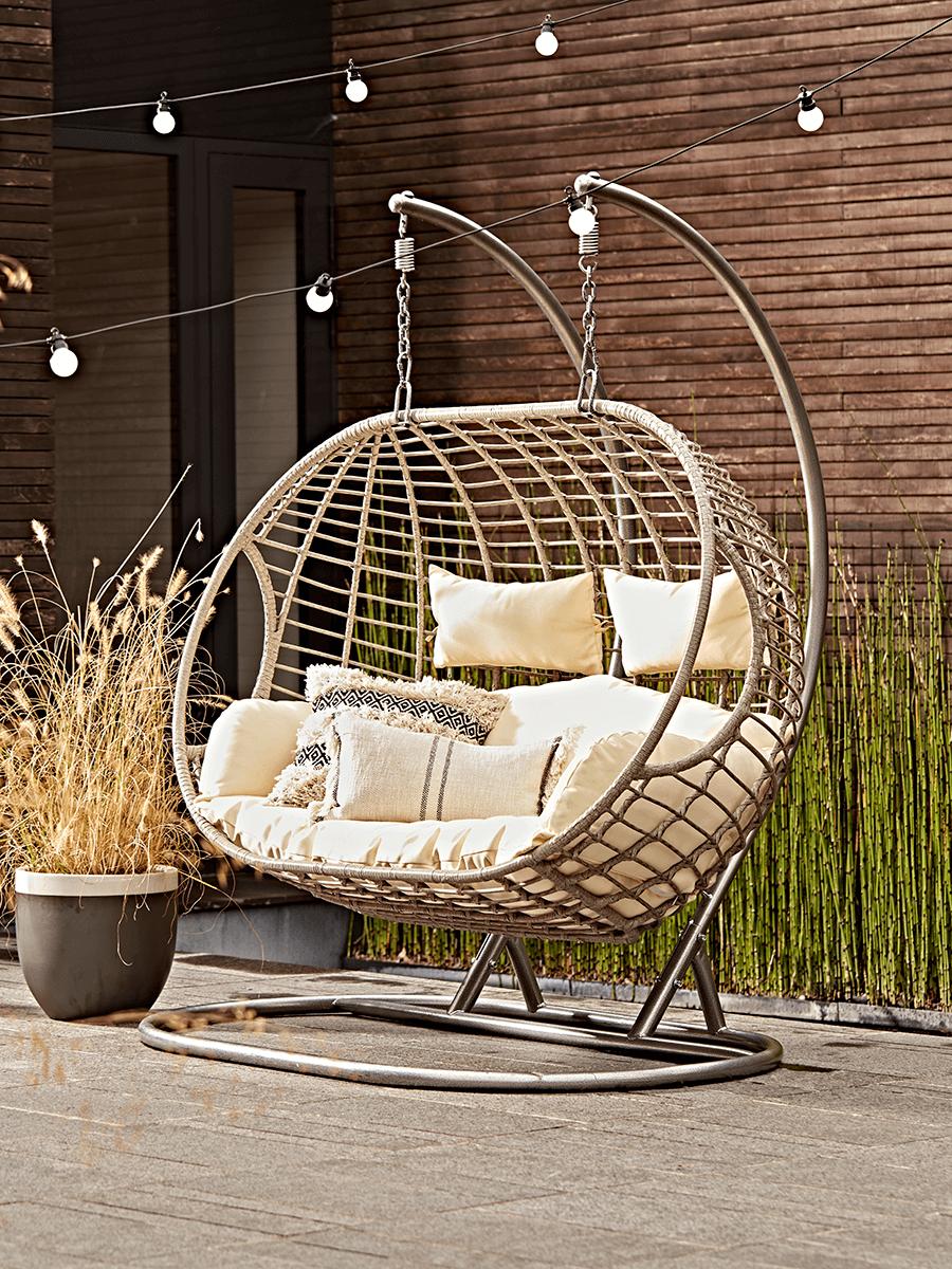 Double Indoor Outdoor Hanging Chair