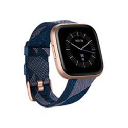 Fitbit Versa 2 SE Smartwatch - Navy & Pink Woven