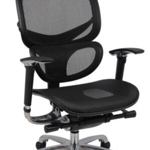 HH Solutions Ergonomics4Work Wave Full Mesh Chair - Black