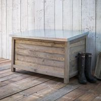 Large Aldsworth Outdoor Storage Box Grey Finish