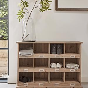 Large Wooden Box Unit