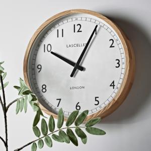 Oak Frame Clock