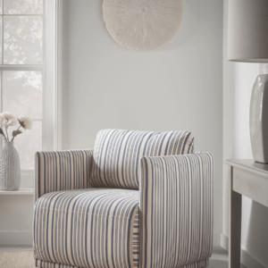 Rennes Striped Chair