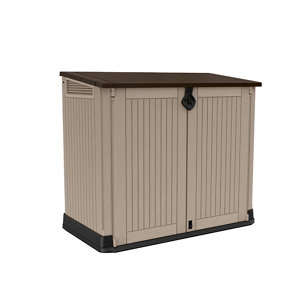 Keter Store it out midi Wood effect Garden storage box