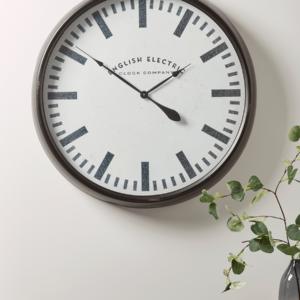 NEW Black Factory Clock