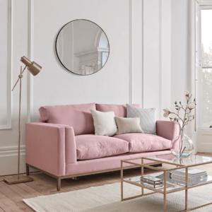 The Deco Sofa Bed - Ash Linen Cotton Blend