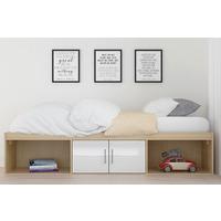 Parker Cabin Bed-White-Single