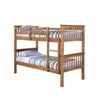 Zelda Bunk Bed-Generic - Single-Pine