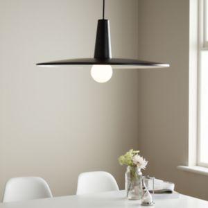 GoodHome Hibonit Black Pendant Ceiling Light