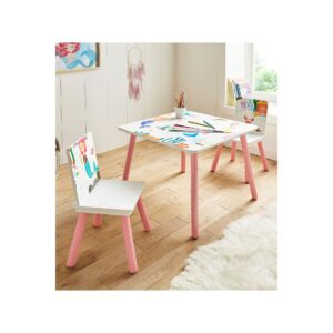 Mermaid Table and Chairs Set