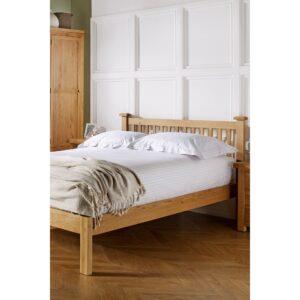 Woburn Chunky Oak Bed