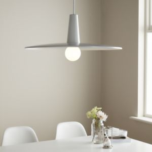 GoodHome Hibonit White Pendant Ceiling Light