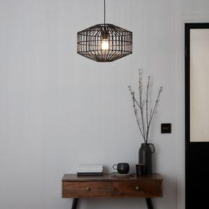 GoodHome Wutai Black Pendant Ceiling Light