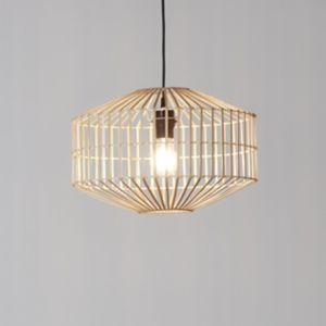 GoodHome Wutai Natural Pendant Ceiling Light