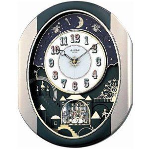 Rhythm Magic Motion Clock - Crystals From Swarovski?